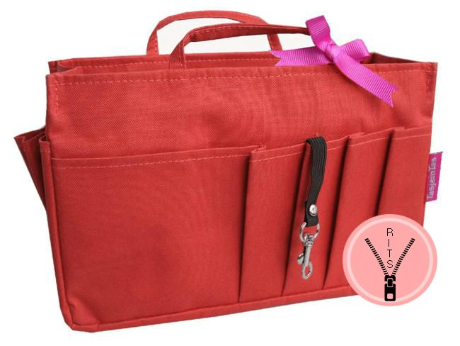 Bag in Bag - Small - Classic - Rood - Rits