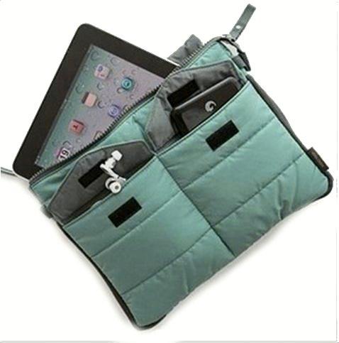 Bag in Bag - Budget - Tablethoes - Petrol