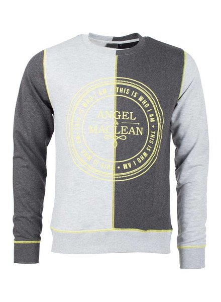 Logo Dubbel Crewneck | Grey