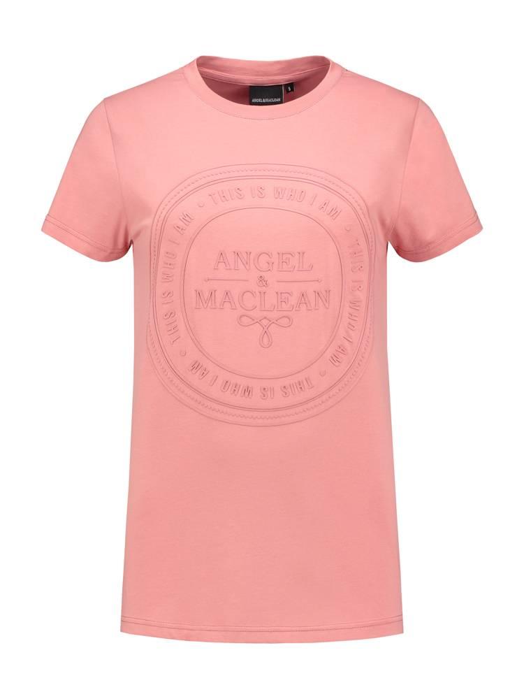 Logo Tee Old Pink