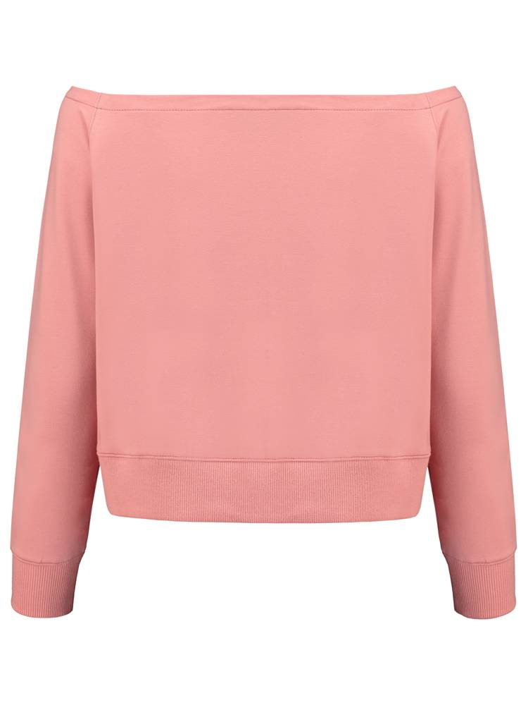 Off-Shoulder Top | Pink