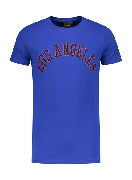 ANGEL&MACLEAN Blue LA City T-shirt