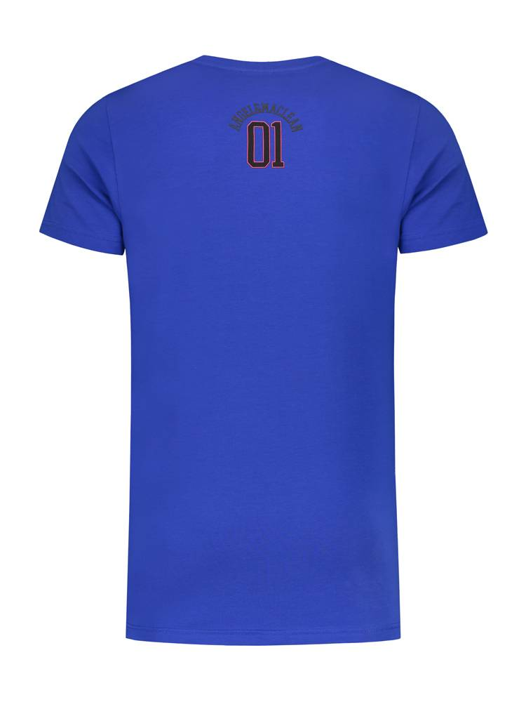 ANGEL&MACLEAN Blue LA City T-shirt