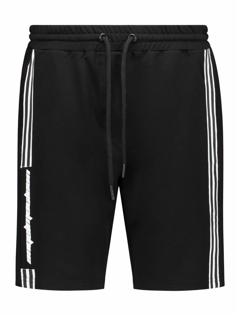 ANGEL&MACLEAN Black Sport Track Short
