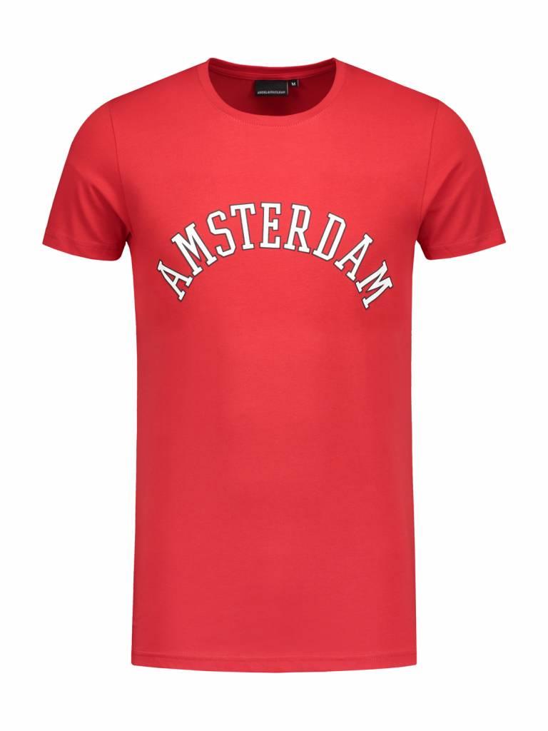 ANGEL&MACLEAN Red A'dam City T-shirt