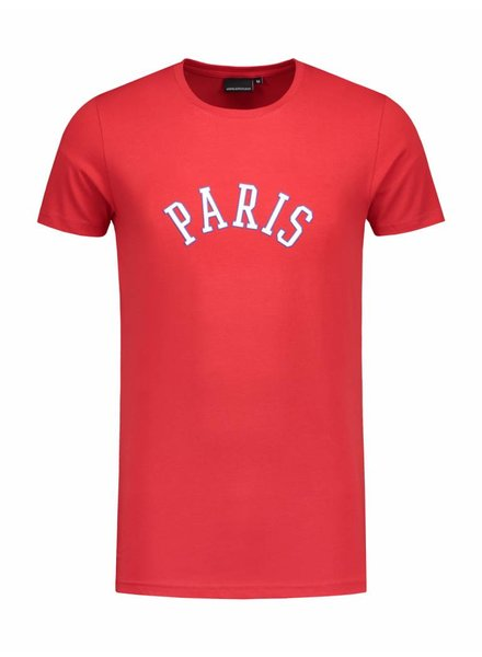 Paris City T-shirt | Red