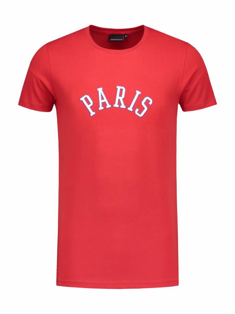 Paris City T-shirt | Red