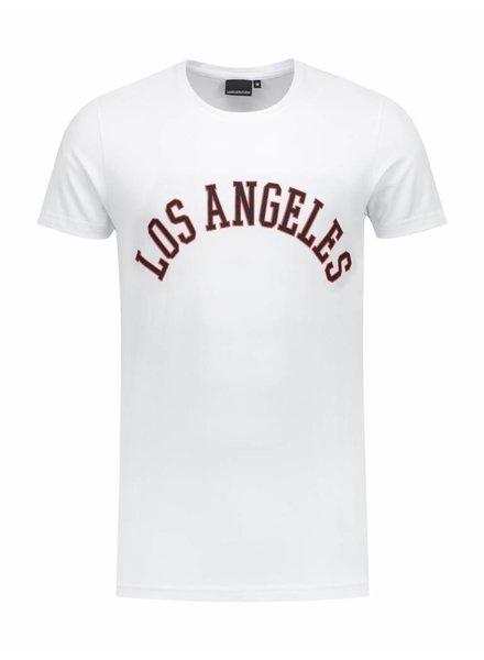 LA  City T-shirt | White