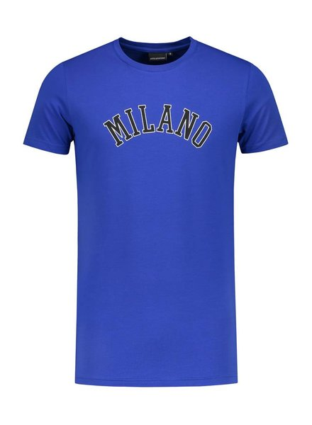 ANGEL&MACLEAN Blue Milano City T-shirt