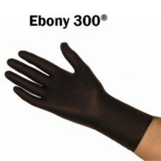 Barber Healthcare Gants nitrile épais EBONY non-poudré noir manchette longue épais (10x50)