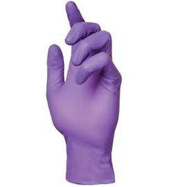 Barber Healthcare Nitril handschoenen poedervrij paars extra dik UNP (10x100)