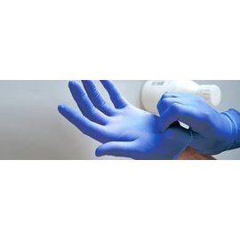 ABENA Abena latex non-poudré bleu (10x100)