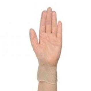 ABENA DESTOCKAGE: Gants vinyle poudré transparent médical 10x100)