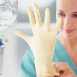 HPC Healthline Latex stérile non-poudré blanc (4x50)