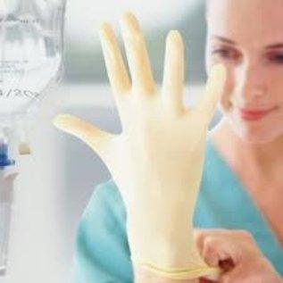 Polyco HPC Healthline Gants latex stérile non-poudré blanc HandSafe GS21 (4x50)