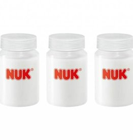 NUK NUK moedermelk flessenset 5/80 ml