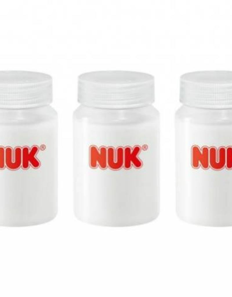 NUK NUK moedermelk flessenset 5/80 ml