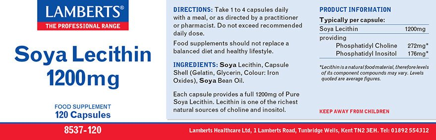 Lamberts Lecithine 1200 mg