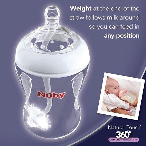 Nuby Anti reflux - anti koliek fles Nuby