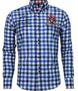 blokjes overhemd