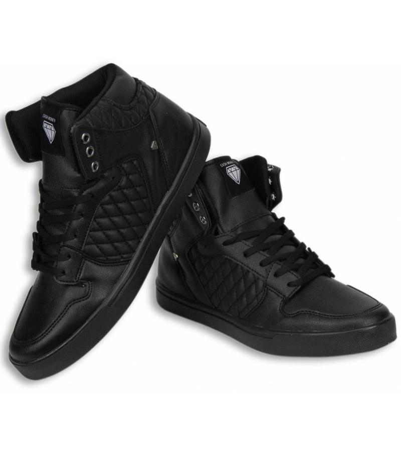 Cash Money Heren Schoenen - Heren Sneaker High - Zwart