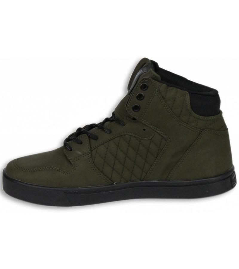 Cash Money Heren Schoenen - Heren Sneaker High - Khaki