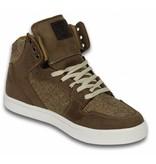 Cash Money Heren Schoenen - Heren Sneaker High - Riff Taupe
