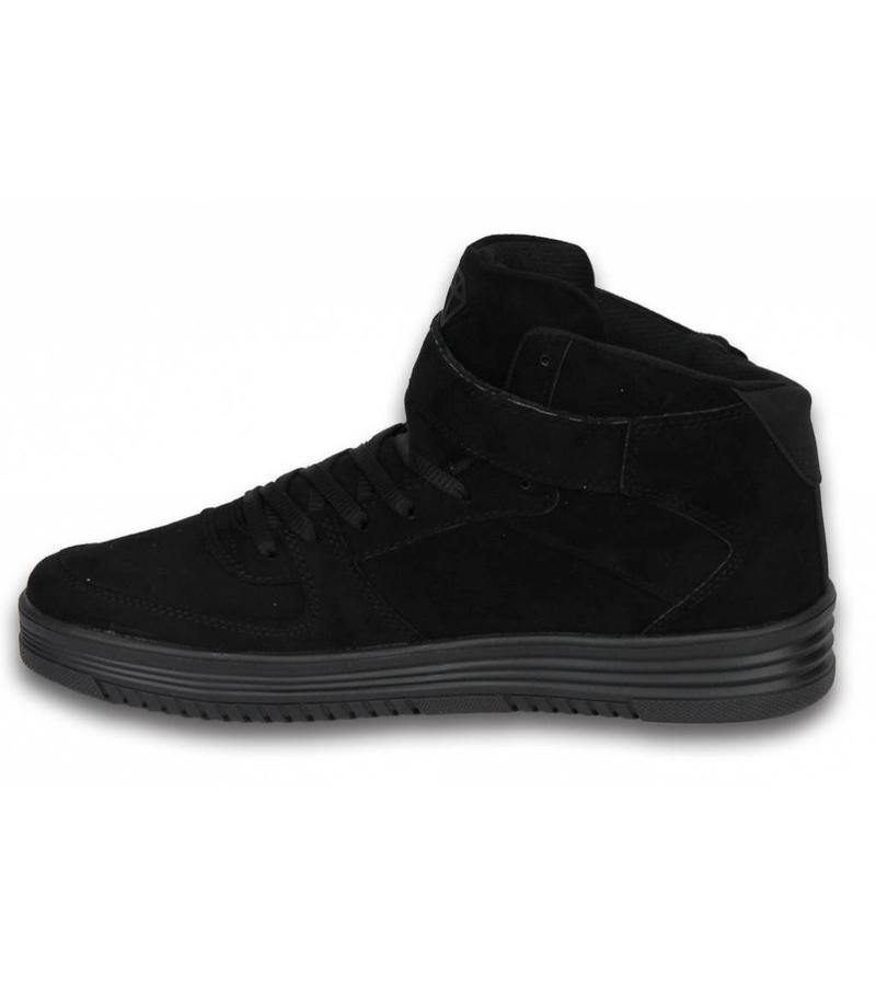 Cash Money Heren Schoenen - Heren Sneaker High - Dolce Black