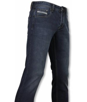 Orginal Ado Exclusive Basic Jeans - Regular Fit Casual 5 Pocket - Navy