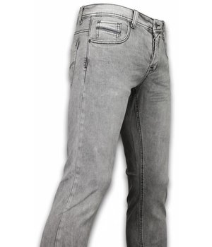 Orginal Ado Exclusive Basic Jeans - Regular Fit Casual 5 Pocket - Licht Grijs
