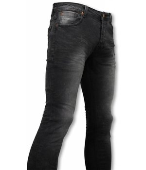 Hard Soda Denim Exclusive Basic Jeans - Slim Fit Strecht Washed 5 Pocket - Zwart