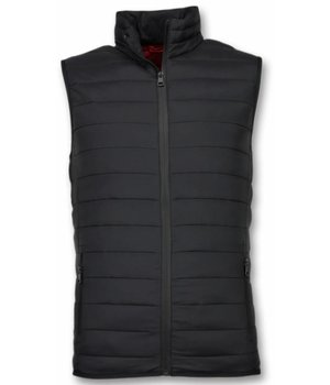 Y chromosome Bodywarmer Heren - Casual Bodywarmer - Zwart