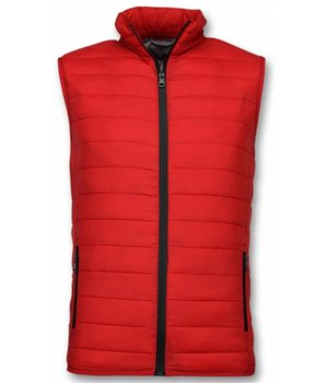 Y chromosome Bodywarmer Heren - Casual Bodywarmer - Rood