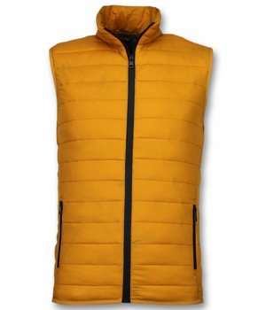 Y chromosome Bodywarmer Heren - Casual Bodywarmer - Geel