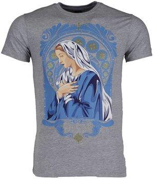 Mascherano T Shirt Herren - Holy Mary - Grau