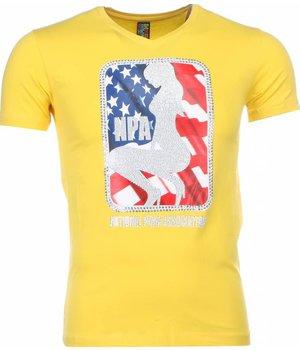 Mascherano T Shirt Herren - NPA Print - Gelb