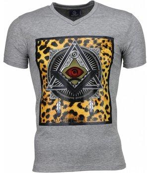 Local Fanatic Mason - T Shirt Herren - Grau