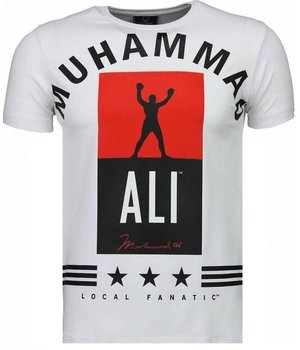 Local Fanatic Muhammad Ali Stars - T Shirt - Weiß
