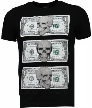 Local Fanatic Better Have My Money - Strass T shirt Herren - Schwarz