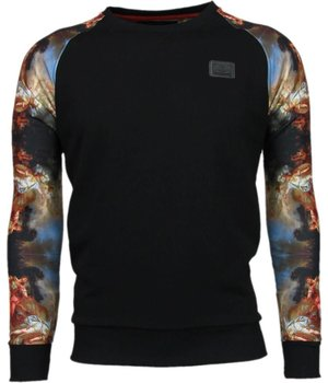 Local Fanatic Mythologie Arm Motiv - Sweatshirt - Schwarz