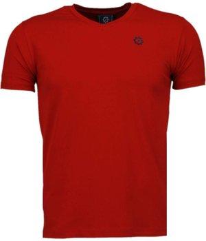 Local Fanatic Basic - T Shirt Herren - Rot