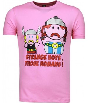 Mascherano Romans - T Shirt Herren - Rosa