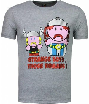 Mascherano Romans - T Shirt Herren - Grau