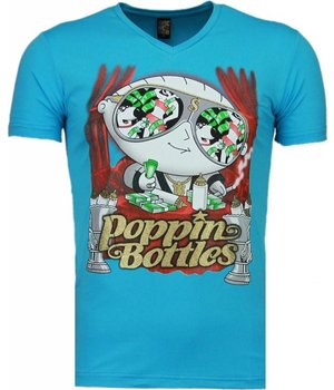 Mascherano Poppin Stewie - T Shirt Herren - Blau