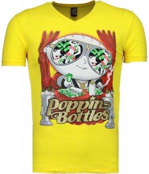Mascherano Poppin Stewie - T Shirt Herren - Gelb