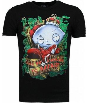 Mascherano Rich Stewie - T Shirt Herren - Schwarz