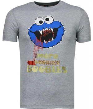 Mascherano Cookies - T Shirt Herren - Grau