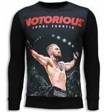 Local Fanatic Notorious McGregor - Sweatshirt - Schwarz