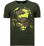 Local Fanatic Predator - Strass T Shirt Herren - Grün