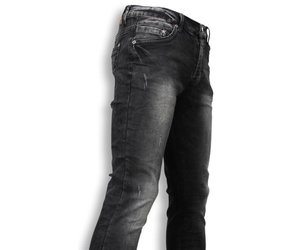 finest selection 7433c b519b black ace exclusiv jeans slim fit washed look schwarz